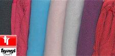 100% COTONE POPELINE tessuto pois 2mm a PANNO patchwork ARTIGIANATO QUIL CUCITO