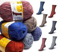 100 gr RELLANA Sockenwolle 4-fach 4-fädig  Ringel Musterbildend 5,50€