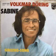 "7"" 1977 ! VOLKMAR DÖRING : Sabine // RAREST IN MINT- \"