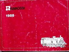 Catalogo RIVAROSSI in scala HO 1988 - ITA  -  [TR.24]