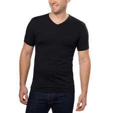 (2) 3 Packs Calvin Klein Men's V Neck Tee Shirt 3 pack  AUTHORIZED CK DEALER!!