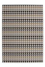 Géométrique Motif Zick Zack Tapis moderne plat Tapis Multi Sable SOLDES