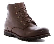 New BOGS Johnny 5-Eye Waterproof Leather Men Boots Sz 8