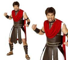 Mens Centurion Costume Adults Roman Gladiator Fancy Dress Spartan Warrior New