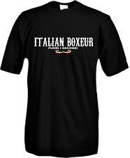 T-Shirt girocollo manica corta Sport P05 Boxe Italian Boxeur Fuori i Secondi