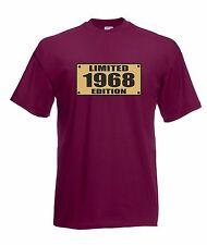 T-shirt Maglietta J1543 Nato 1968 Idea Regalo Compleanno Limited Edition