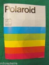 Manuale per POLAROID 1000 CAMERA macchina fotografica ORIGINALE istruzioni BELLO