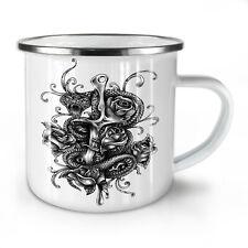 Snake With Dagger NEW Enamel Tea Mug 10 oz | Wellcoda