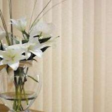 "Vertical Blind - Headrail and 5"" Slats - Fabric Louvolite Aura"