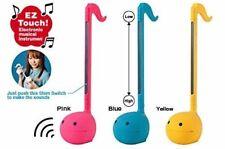 Cube Meiwa Denki Otamatone COLORS Pink / Yellow / Blue Musical Instrument NEW