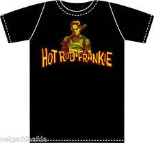 HOT ROD FRANKIE - HRF T-Shirt schwarz S - XXL meteors mad sin demented  headcat
