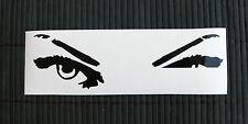 adesivo occhio sguardo eyes sticker decal vynil vinile vetro auto moto occhi