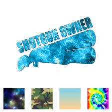 Shotgun Owner Hunting - Vinyl Decal Sticker - Multiple Patterns & Sizes - ebn612