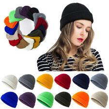 Unisex Ski Skullcap Melon Cap Beanie Hat Knitted Crochet Hip Hop Retro Hat