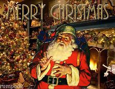 Christmas Poster/Santa Claus/Merry Christmas Poster 16x20 St. Nick