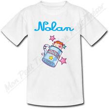 T-shirt Enfant Verseau Horoscope avec Prénom Personnalisé