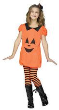 CLASSIC HALLOWEEN GIRLS CHILDRENS COSTUMES PUMPKIN ROMPER (MULTIPLE OPTIONS)