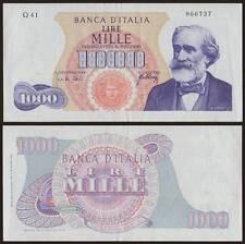 1000 LIRE GIUSEPPE VERDI 1° TIPO 20/5/1966