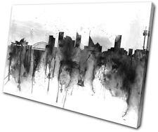 Sydney City Industrial Grunge Urban SINGLE CANVAS WALL ART Picture Print