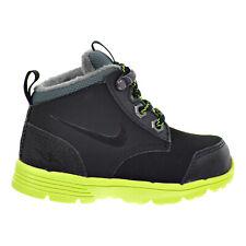 Nike DF Jack Boot (TDV) Toddler's Boots Black/Volt/Hasta 535923-002