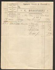 "NICE (06) CONSTRUCTEUR-ELECTRICIEN ""C. BONIFASSI"" 1904"