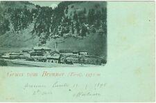 Gruss vom Brenner / Tirol, 1898, mit Stempel Fahrendes Postamt Kufstein - Ala
