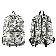 The Nightmare Before Christmas Women nylon Zipper Backpack School Bag Satchel