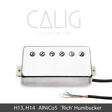 CALIG - H13,H14 AlNiCo5 Humbucker Pickup Neck/Bridge, Nickel/Gold