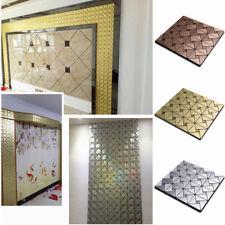 30 X 30cm Mosaïque Aluminium Backsplash Mur Carrelage Auto-Adhésif Retirer Küche