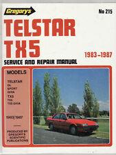 FORD TELSTAR TX5 SERVICE & REPAIR WORKSHOP  MANUAL 1983-87