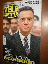 Telesette.MASSIMO GHINI,BEPPE BIGAZI, SILVIA DE SANTIS, LUCA BARRECA,uuu