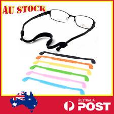 Pack of 6 Multi Colored Silk Eyeglass Holders