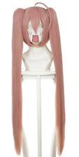 Peluca larga rosa con coletas 80cm, cosplay hidan no aria