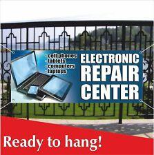 ELECTRONIC REPAIR CENTER Banner Vinyl / Mesh Banner Sign Liquidation Cell Phones