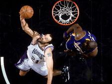 Vlade Divac Reverse Layup Sacramento Kings Basketball Giant Wall Print POSTER