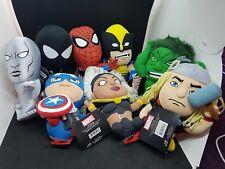 """Official -  Marvel Avengers X-men Super -Deformed 7"""" Plush Figures - UK Seller"""