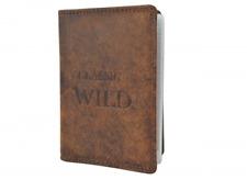 CAPRIUM Kredit- und Visitenkartenetui Wildleder Classic Kartenetui 677536