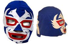 Dos Caras Blue Pro Wrestling Mask EMLL Lucha Libre