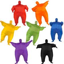 Fat Suits (Choose Your Color) Inflatable Costume Sports Adult Blow Up Jumpsuit