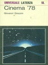 CINEMA '78 CINEMA GIOVANNI GRAZZINI LATERZA 1979.