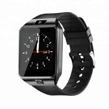 Dorado dz09 smartphone reloj de pulsera móvil Bluetooth Messenger Ios Samsung ip67