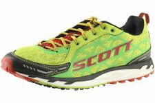 Scott Men's Trail Rocket Sneaker Racing Green/Red Shoes