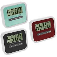 Digital Eieruhr Teetimer Küchentimer Küchenuhr Stoppuhr Kurzzeitmesser Magnet