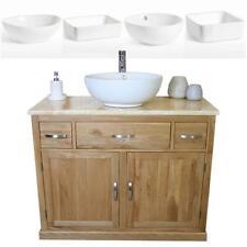 Bagno Mobiletto Armadio Rovere lavare STAND GOLDEN Onyx Top & bacino di ceramica 1161