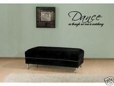 """DANCE Vinyl Wall Art Decal Sticker Home Decor 24"""""""