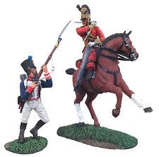 Britains Waterloo British 1st Royal Dragoon CAPITANO & francese 105th Set 36081