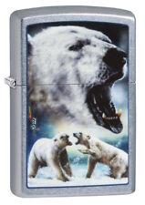 Zippo Mazzi Polar Bear Eisbär auf Wunsch mit persönlicher Gravur 60003974 Neu