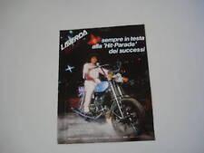 advertising Pubblicità 1981 MOTO LAVERDA 125 LZ