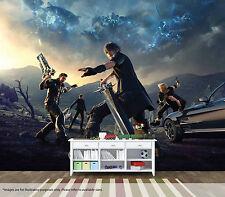 Final fantasy xv mural wall art qualité pastable papier peint autocollant gamer
