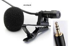 Cardioid Tie Clip Lapel Lavalier Microphone for PC Laptop , Digital Recorders